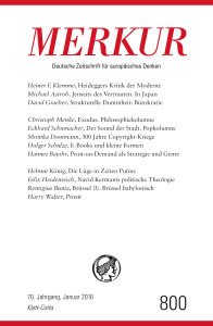 Deutsche Zeitschrift für europäisches Denken